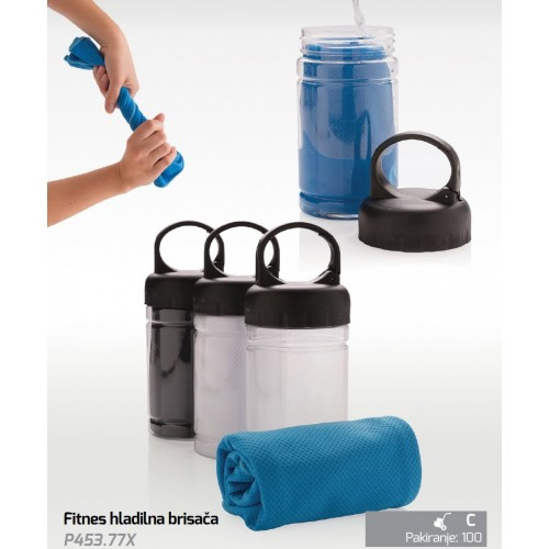 Fitnes hladilna brisača