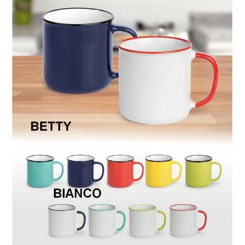 Keramična skodelica BETTY BIANCO