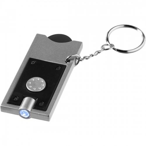 LED obesek za ključe s kovancem