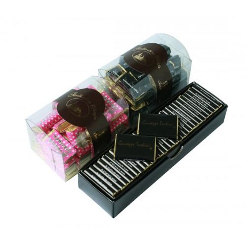 Giuseppe Tartini , mini čokoladice v skrinjici - mlečna...