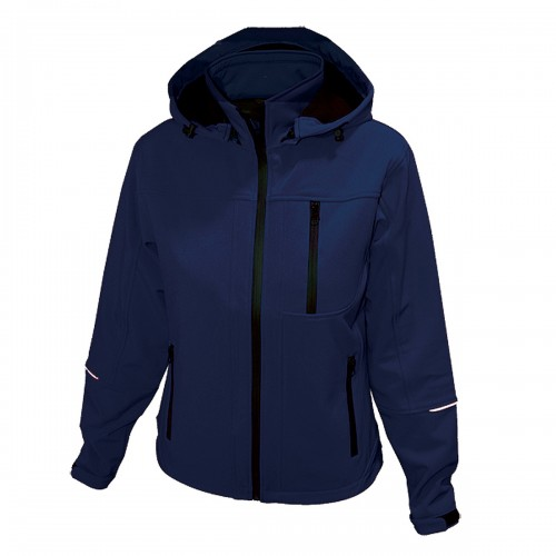 SOFTSHELL JAKNA MOŠKA PERFORMANCE NAVY MODRA