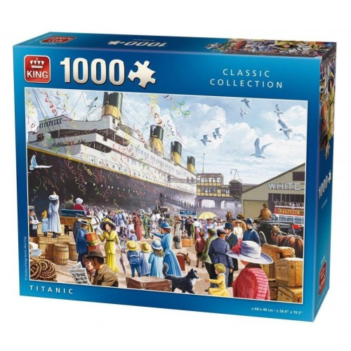 KING PUZZLE TITANIK 1000 kos