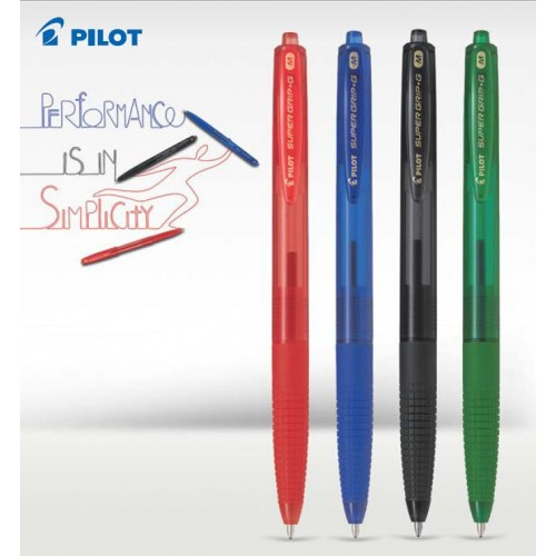 PILOT SVINČNIK KEMIČNI SUPER GRIP G RETRACTABLE